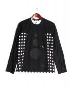 BLACK COMME des GARCONS(ブラックコムデギャルソン)の古着「ロングスリーブカットソー」|ブラック