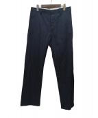 MARC JACOBS(マークジェイコブス)の古着「ドロストパンツ」|ネイビー