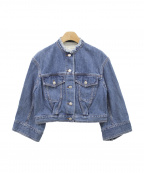 DRIES VAN NOTEN(ドリスバンノッテン)の古着「デニムジャケット」|ブルー
