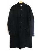 monkey time(モンキータイム)の古着「ムートンチェスターフィールドコート」 ブラック