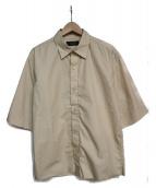 UNUSED(アンユーズド)の古着「5分袖シャツ」|ベージュ