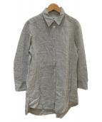 MAX MARA WEEK END LINE(マックスマーラ ウイークエンドライン)の古着「リネンシャツ」|グリーン