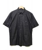 BURBERRY BLACK LABEL(バーバリーブラックレーベル)の古着「半袖シャツ」|ブラック