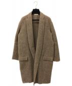 CELINE(セリーヌ)の古着「エッグクロンビーコート」|ブラウン