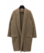CELINE(セリーヌ)の古着「エッグクロンビーコート」 ブラウン