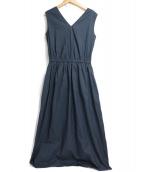 Demi-Luxe BEAMS(デミルクスビームス)の古着「ノースリーブワンピース」|ネイビー