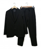 T-JACKET By TONELLO(ティージャケットバイトネッロ)の古着「スウェットセットアップスーツ」|ブラック
