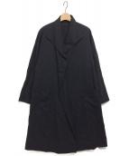 Y's(ワイズ)の古着「[古着]オーバーシルエットコート」|ブラック