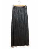 ISSEI MIYAKE(イッセイミヤケ)の古着「スカート」|ブラック