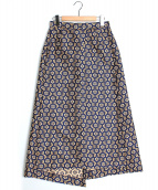UN3D.(アンスリード)の古着「スクエアフラワースカート」