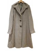 HIROKO BIS(ヒロコビス)の古着「ウールアルパカ混コート」|ベージュ