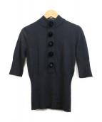 LOUIS VUITTON(ルイヴィトン)の古着「カシミヤハイネックニット」|ブラック