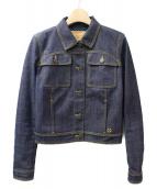 LOUIS VUITTON(ルイ・ヴィトン)の古着「デニムジャケット」|ネイビー