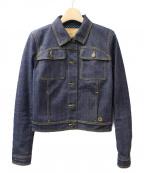 LOUIS VUITTON(ルイヴィトン)の古着「デニムジャケット」|ネイビー