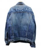 BALENCIAGA(バレンシアガ)の古着「バックロゴデニムジャケット」