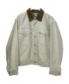 KAPTAIN SUNSHINE(キャプテン サンシャイン)の古着「トラッカージャケット」|ベージュ