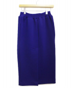 BALENCIAGA(バレンシアガ)の古着「タイトスカート」 ネイビー