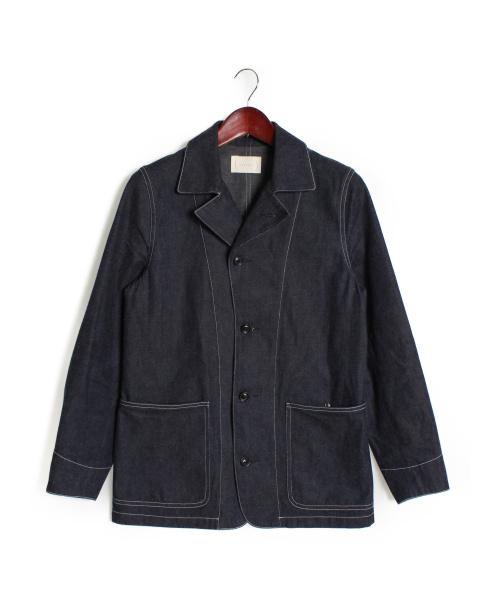 cantate(カンタータ)cantate (カンタータ) デニムカバーオール インディゴ サイズ:44の古着・服飾アイテム