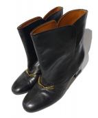 CELINE(セリーヌ)の古着「ショートブーツ」|ブラック
