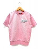 KENZO(ケンゾー)の古着「ロゴスウェット」|ピンク