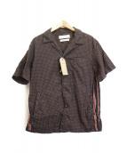 REMI RELIEF(レミレリーフ)の古着「バンダナ格子柄シャツ」|ブラック×レッド