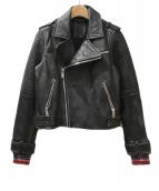 Marc by MarcJacobs(マークバイマークジェイコブス)の古着「ライダースジャケット」 ブラック