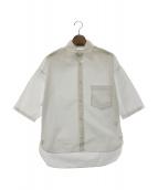 MADISON BLUE(マディソンブルー)の古着「コットンドロップショルダーシャツ」|ホワイト