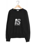 I.S. chisato tsumori design(アイ.エス. チサト ツモリ デザイン)の古着「スウェット」|ブラック