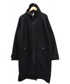 MAGIC STICK(マジックスティック)の古着「ナイロンコート」|ブラック