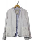GALLEGO DESPORTES(ギャレゴデスポート)の古着「ボタンレスジャケット」|ホワイト
