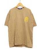 JUNYA WATANABE COMME des GARCONS MAN(ジュンヤワタナベ コムデギャルソン マン)の古着「プリントTシャツ」|ベージュ