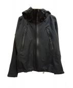 Descente ALLTERRAIN(デサントオルテライン)の古着「アクティブシェルジャケット」|ブラック