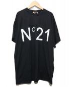 N°21 NUMERO VENTUNO(ヌメロヴェントゥーノ)の古着「ロゴTシャツ」|ブラック