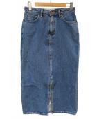 Spick and Span(スピック&スパン)の古着「デニムスカート」 ブルー