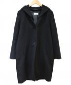 PLST(プラステ)の古着「ビーバーフード2WAYコート」|ブラック