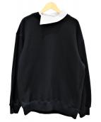 LE CIEL BLEU(ルシェルブルー)の古着「2Wayスウェット」|ブラック