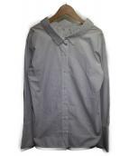 LE CIEL BLEU(ルシェルブルー)の古着「フォールバックボリュームシャツ」|ホワイト