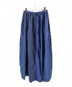 45R(フォーティファイブアール)の古着「パッチワークインディゴスカート」|ネイビー