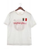 keisuke kanda(ケイスケカンダ)の古着「ゲームシャツ」 ホワイト