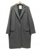 Lisiere(リジェール)の古着「メルトンチェスターコート」|グレー