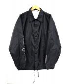 LEGENDA(レジェンダ)の古着「バックプリントコーチジャケット」|ブラック