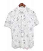 ALEXANDER McQUEEN(アレキサンダーマックィーン)の古着「プリント半袖シャツ」 ホワイト