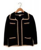 FOXEY BOUTIQUE(フォクシー ブティック)の古着「セットアップジャケット」|ブラック