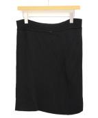 MM6 Maison Margiela(エムエムシックス メゾンマルジェラ)の古着「ニットスカート」 ブラック