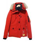 CANADA GOOSE(カナダグース)の古着「モンテベロパーカー 」|レッド