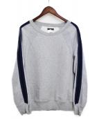 Engineered Garments(エンジニアードガーメンツ)の古着「袖ラインスウェット」 グレー