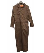 UNIVERSAL OVERALL(ユニバーサルオーバーオール)の古着「つなぎ」|ブラウン