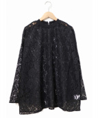 CLANE(クラネ)の古着「コードレースブラウス」|ブラック