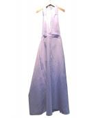 IRENE(アイレネ)の古着「エプロンドレス」|ライトブルー