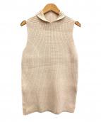 SACRA(サクラ)の古着「ノースリーブニット」 アイボリー